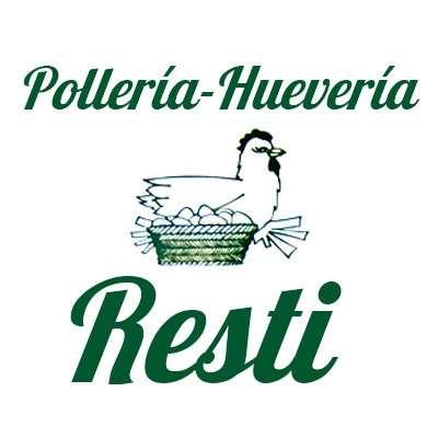 Logotipo Pollería Huevería Resti