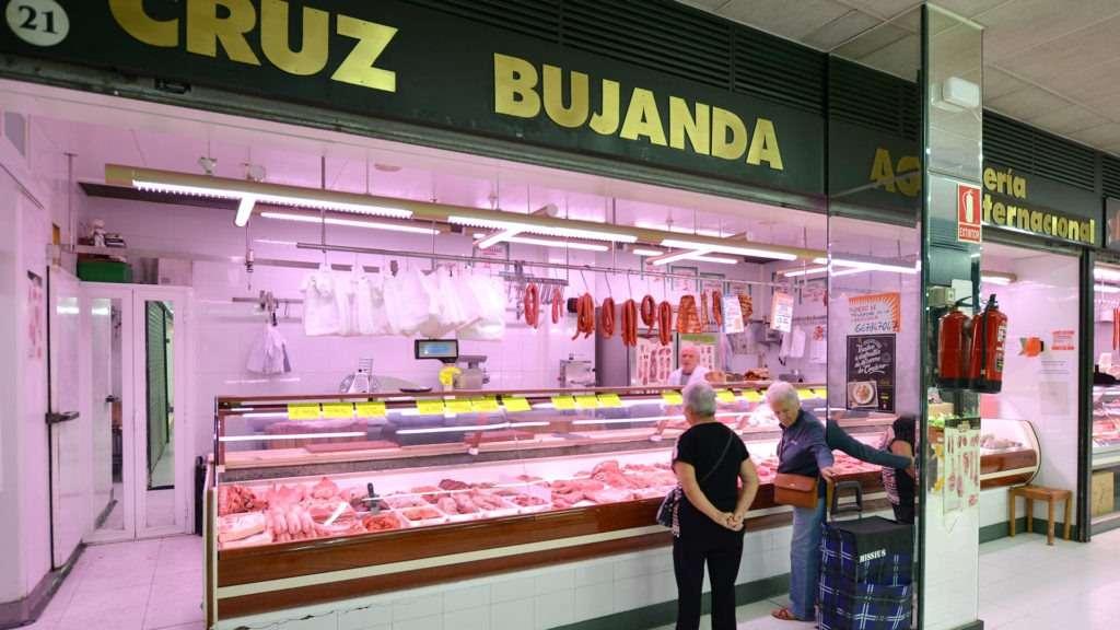 Carnicería Bujanda en Mercado del Corregidor