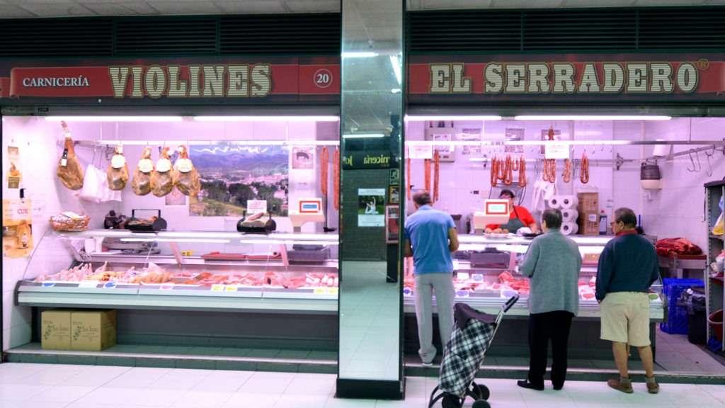 Puesto Carnicería Violine en Mercado del Corregidor