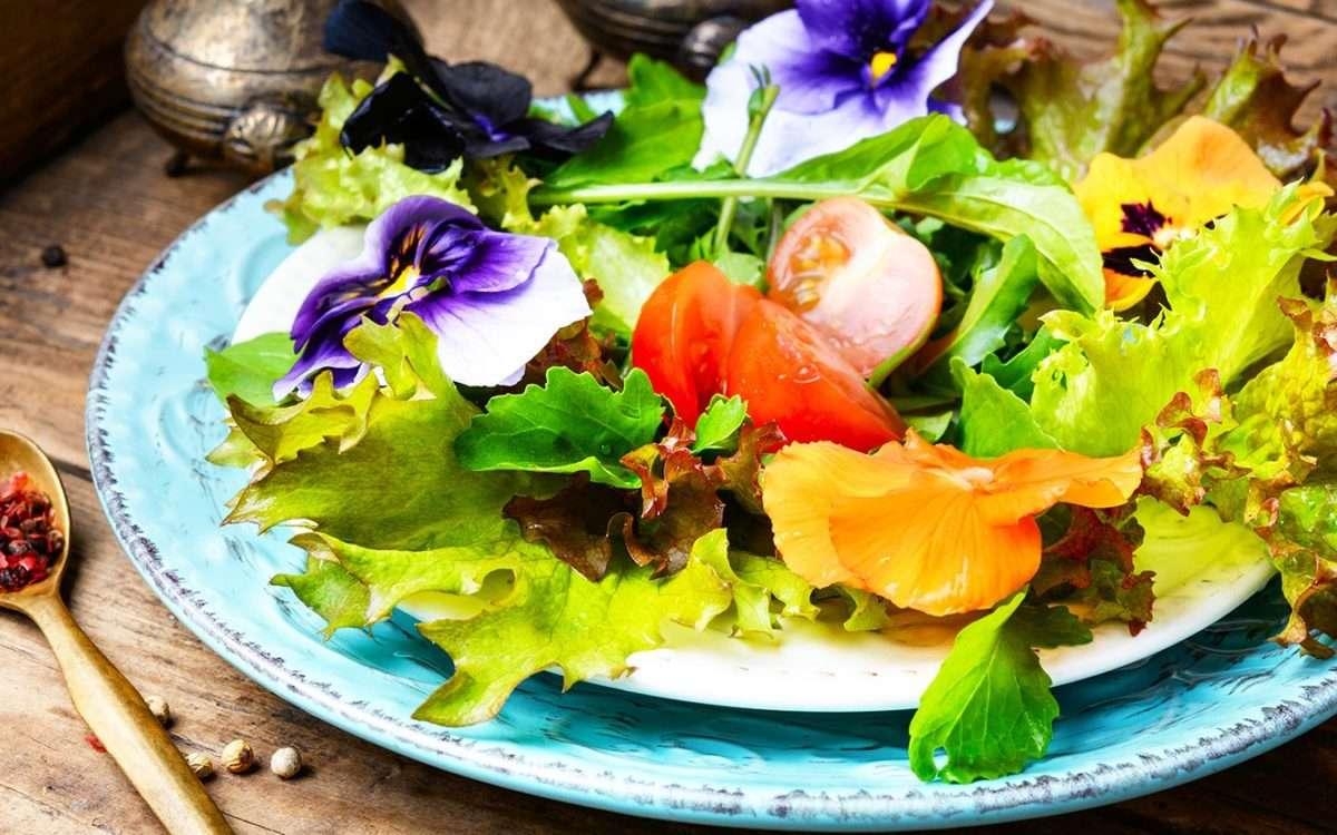 flores comestibles en Logroño