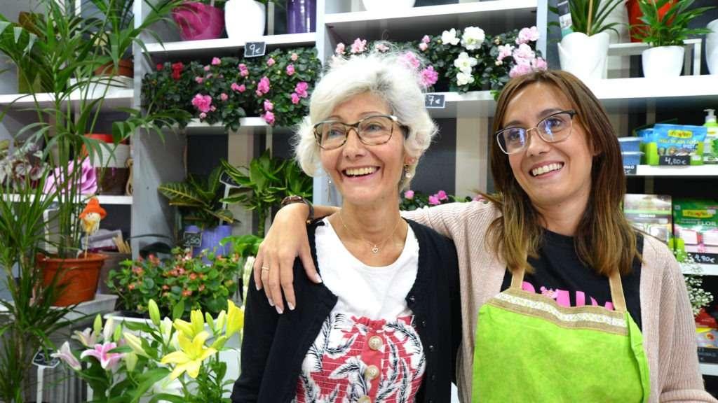 Dependientes Floristería Azahar