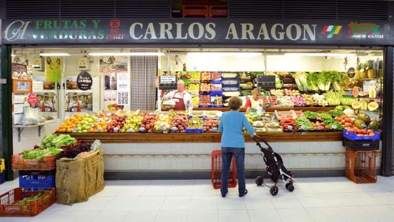 Frutería Carlos Aragón en Logroño