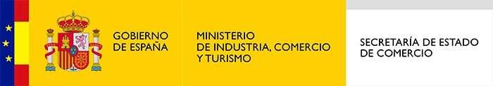 Logo Ministerio de Industría, Comercio y Turismo