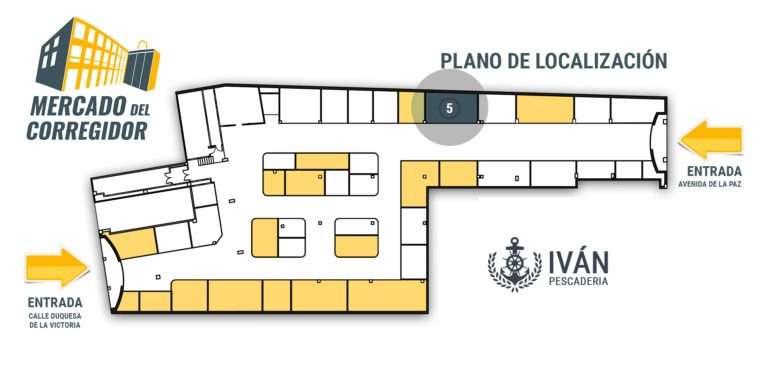 Plano 05 Pescadería Iván