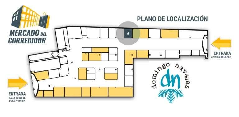 Plano 06 Pescadería Domingo Navajas