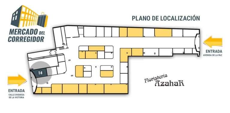 Plano 14 Floristería Azahar