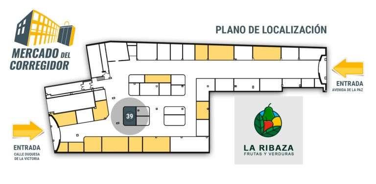 Plano 39 Frutas y Verduras La Ribaza