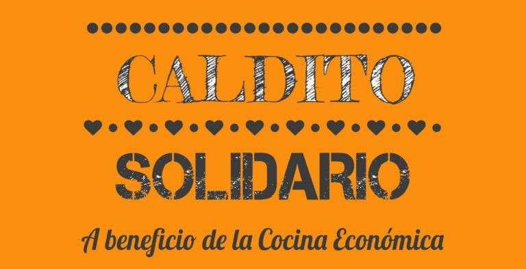 Caldo solidario en Mercado